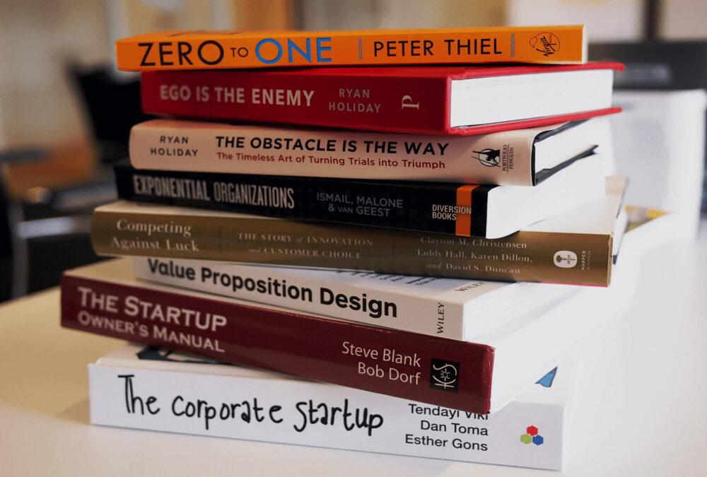Ten great books for entrepreneurs.