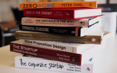Ten great books for entrepreneurs.